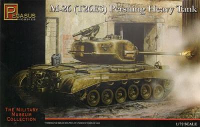 7505 - M26 (T26E3) Pershing Heavy Tank 1/72