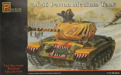 7506 - M46 Patton Medium Tank 1/72
