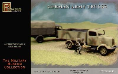 7610 - WWII German Army Truck 1/72