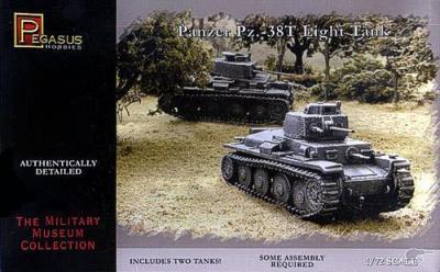 7620 - Pz.Kpfw. 38(t) Light Tank 1/72