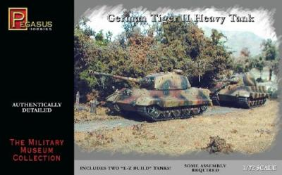 7627 - German Tiger II Heavy Tank 1/72