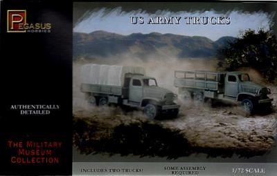 7651 - US Army Trucks 1/72