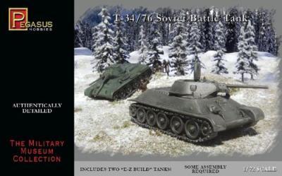 7661 - Russian T-34/76 1/72