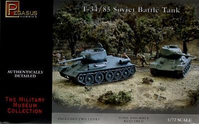 7662 - Russian T-34/85 1/72