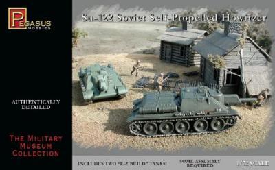 7664 - Su-122 1/72