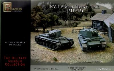 7666 - Russian KV-1 Late with Welded or Cast Turrets 1/72