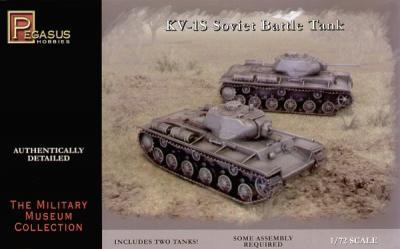7667 - Russian KV-1S Soviet Battle Tank 1/72