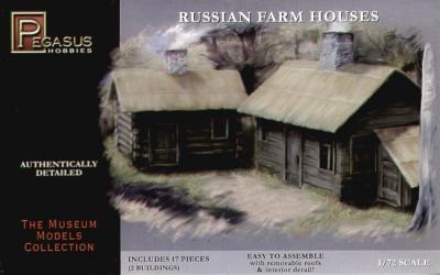 7702 - Russian Farm Houses 1/72