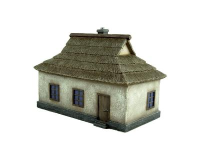 7801 - Ukrainian House 1 (pre-built) 1/72