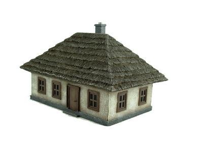 7802 - Ukrainian House 2 (pre-built) 1/72