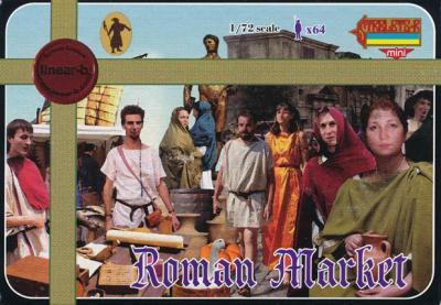 072 - Roman Market 1/72