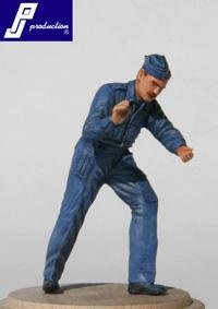 321111 - WWII RAF ground crew figure