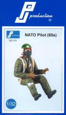 32115 - Luftwaffe Pilot for Messerschmitt Bf-109 with seat