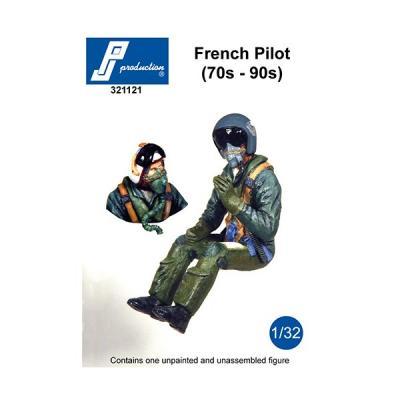 321121 - Modern French pilot of the 70s to 90s ideal for Dassault Mirage IIIE