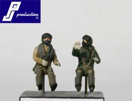 PJ721118 - 2 x RAF pilots modern seated in aircraft 1/72