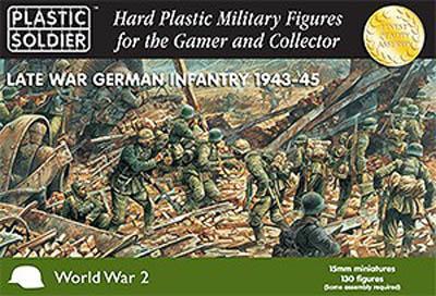WW2015002 - German Infantry (WWII) Late War 1943-45 15mm