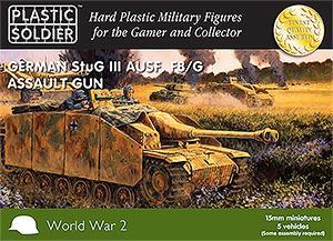 WW2V15005 - Sturmgesgutz/StuG.III F8/G Assault Gun 15mm