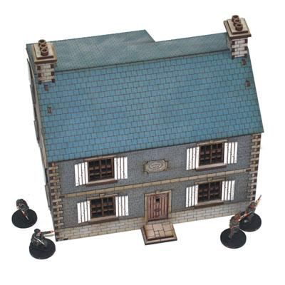 4G20001 - French Farmhouse 1/72