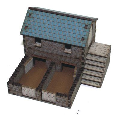 4G20002 - Pig sty and chicken coop 1/72