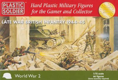 WW2020002 - Late War British (WWII) Infantry 1944-45 1/72