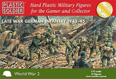 WW2020003 - Late War German (WWII) Infantry 1943-45 1/72