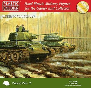 WW2V20001 - Russian T-34/76/85 1/72
