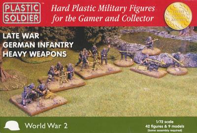 WW72010 - Late War German Heavy Weapons 1/72