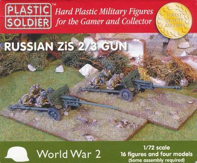 WW72014 - Russian ZIS-2/Russian ZIS-3 field/AT gun kit 1/72