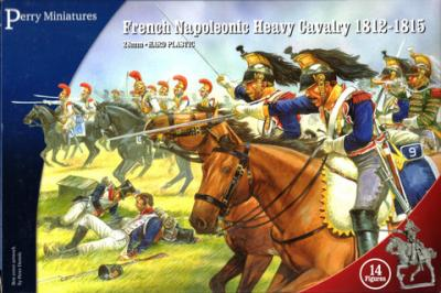 FN120 - French Heavy Cavalry 1815 28mm