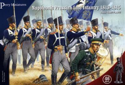 PN1 - Prussian Napoleonic Line Infantry 1813-1815 28mm