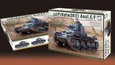 16001 - Pz.Kpfw. 38(t) Ausf.E/F 1/16