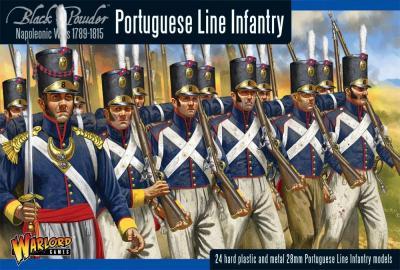 WGN-PO-01 Portugese Line Infantry  (boîte)