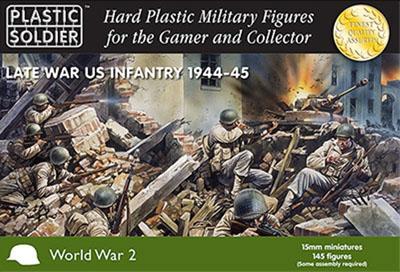 WW2015006 - American Infantry 1944-45 15mm