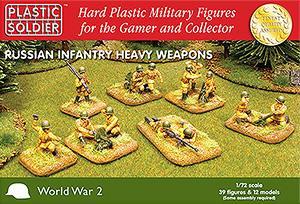 WW2020004 - Russian (WWII) Heavy Weapons 1/72