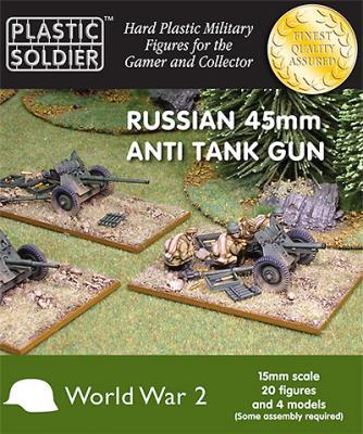 WW2G15001 - Russian 45mm anti tank gun 15mm
