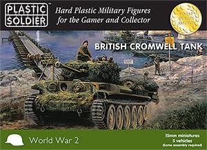 WW2V15022 - British Cromwell Tank 15mm