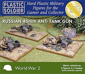 Russian 45mm Anti Tank Gun