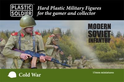 MOD015001 - Cold War Soviet Infantry 15mm