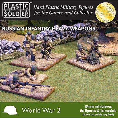 WW2015004 - Russian Heavy Weapons 15mm