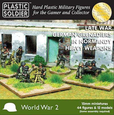 WW2015012 - German Grenadiers Heavy Weapons Normandy 1944 15mm