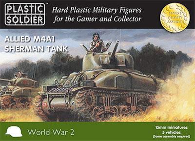 WW2V15004 - M4A1 Sherman 15mm