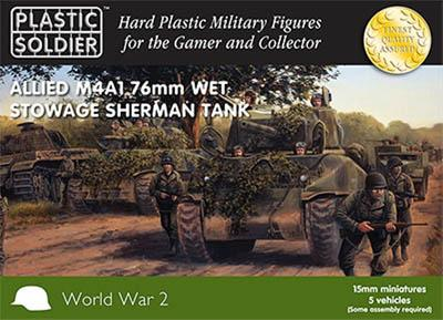 WW2V15008 - M4A1 Sherman 76mm Wet Storage 15mm