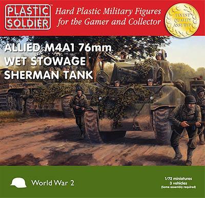 WW72009 - M4A1 Sherman 76mm Wet Tank 1/72