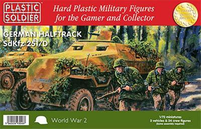 WW72012 - German Sd.Kfz.251 Ausf.D Half track 1/72