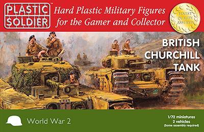 WW2V20017 - British Churchill Tank 1/72
