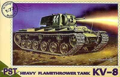 72015 - Russian KV-8 flame thrower 1/72