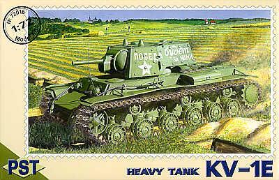 72016 - Russian KV-1E 1/72