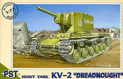 72017 - Russian KV-2 Dreadnought 1/72