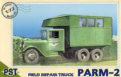 72024 - PARM-2 field repair truck 1/72