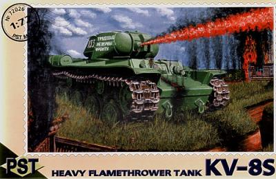 72026 - Russian KV-8S flame thrower 1/72